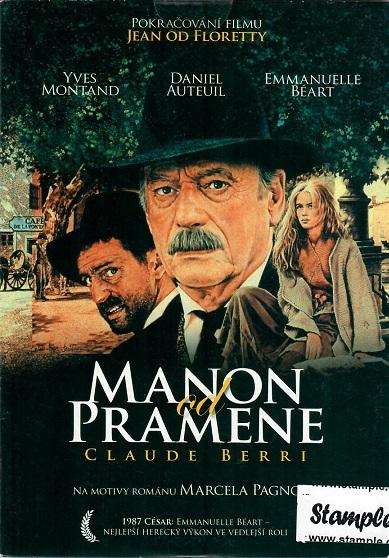 Manon od pramene ( pošetka ) - DVD