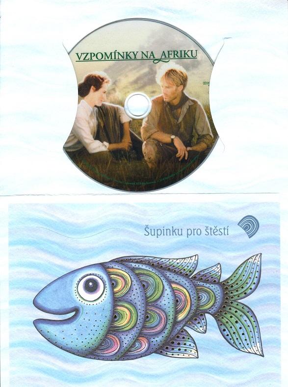 Vzpomínky na Afriku ( dárkový obal) DVD