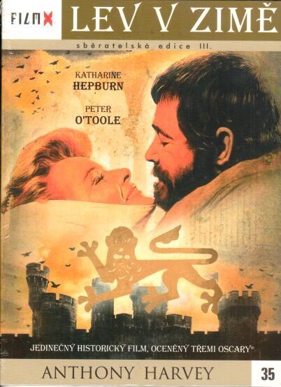 Lev v zimě - digipack DVD