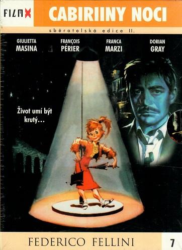 Cabiriiny noci - digipack DVD FilmX 7