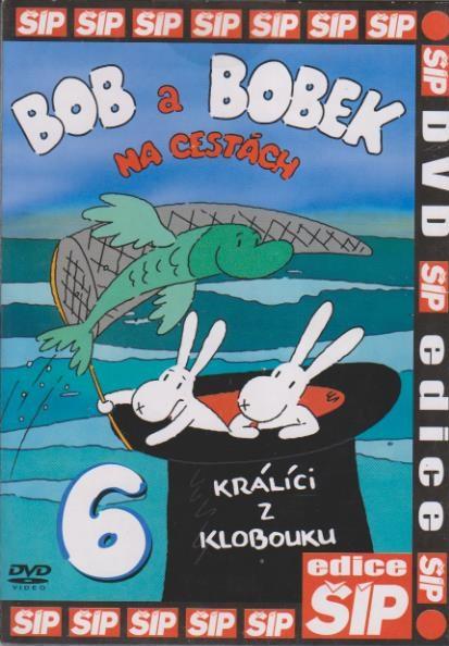 Bob a Bobek 6 - Na cestách - DVD