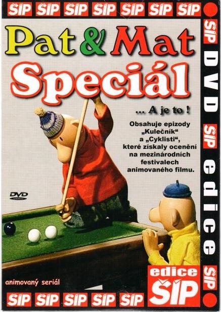 Pat a Mat - Speciál - DVD pošetka