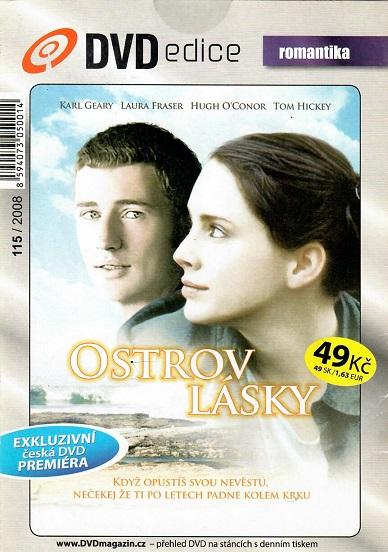 Ostrov lásky ( pošetka ) - DVD
