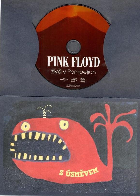 Pink Floyd živě v Pompejích - DVD
