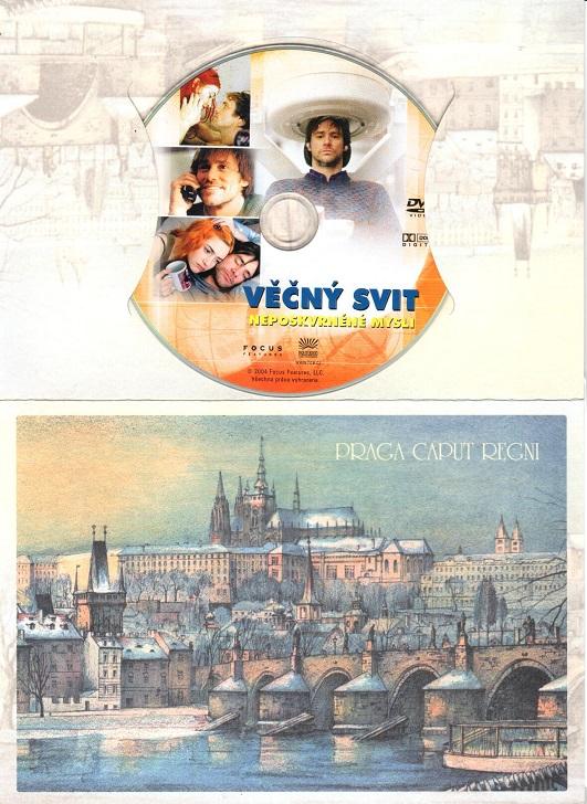 Věčný svit neposkvrněné mysli ( dárkový obal ) - DVD