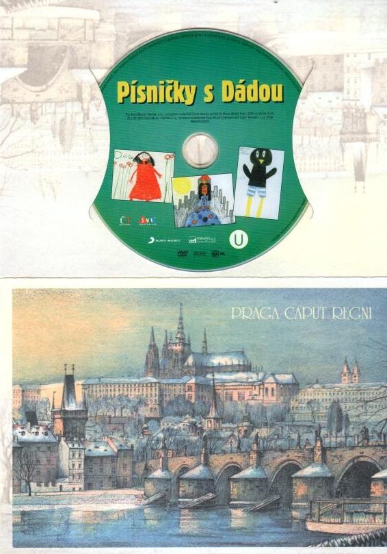 Písničky s Dádou - DVD - dárková obálka