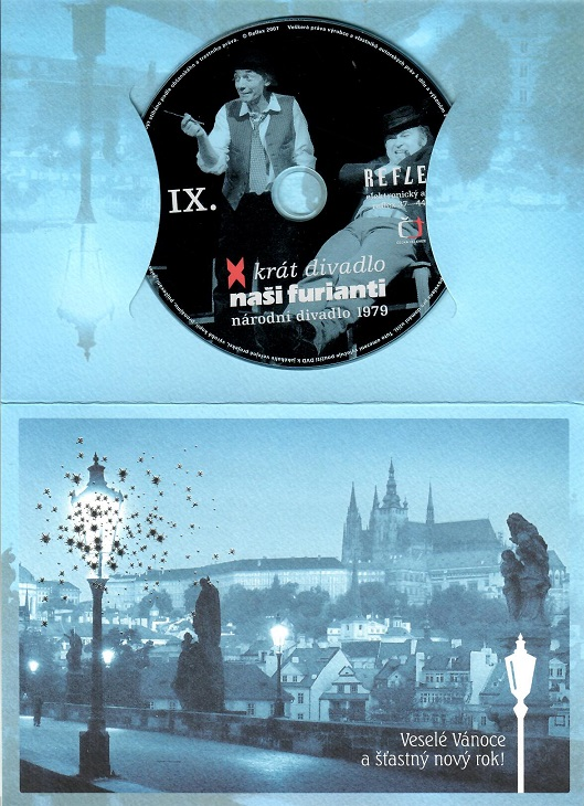 Naši furianti - X - krát divadlo ( dárkový papír obal ) - DVD