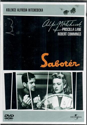 Sabotér ( originální znění, titulky CZ ) plast DVD