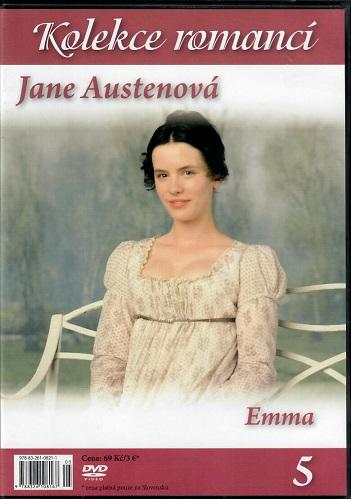 Jane Austenová: Emma  - kolekce romancí 5 ( slim ) DVD