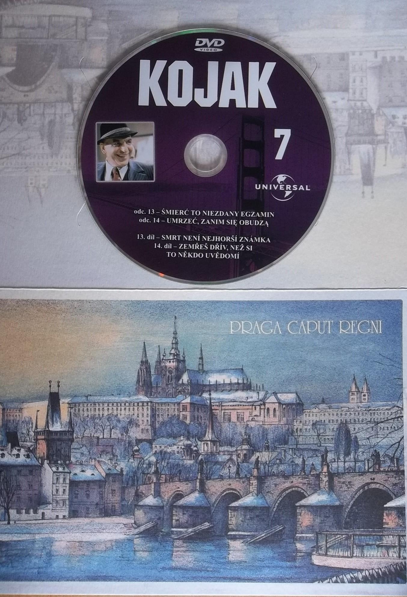 Kojak 7 (dárková obálka) DVD