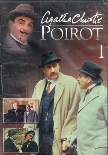 Poirot 1  ( zvuk český )  - DVD