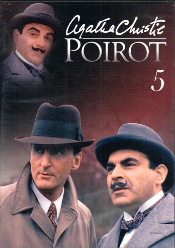 Poirot 5 ( zvuk český ) - DVD