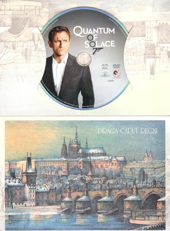 Quantum of Solace, - James Bond (Dárkový obal) DVD