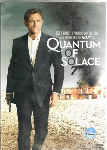 Quantum of Solace, - James Bond - DVD plast