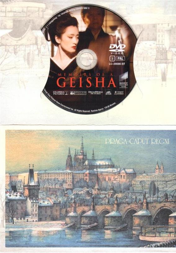 Gejša - DVD - dárkový obal
