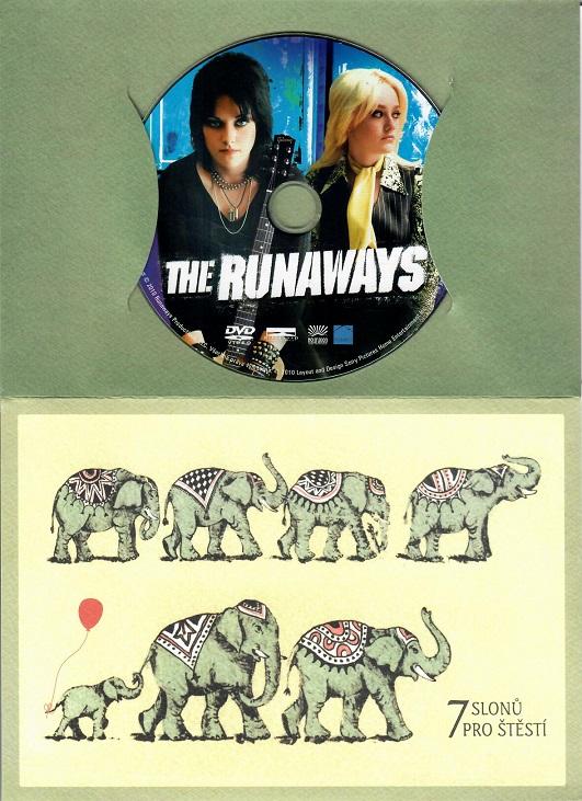 The Runaways ( dárkový papír obal ) DVD