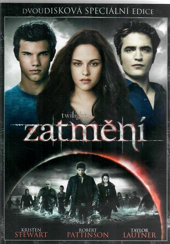 Twilight sága - Zatmění 2. disková edice ( plast ) DVD
