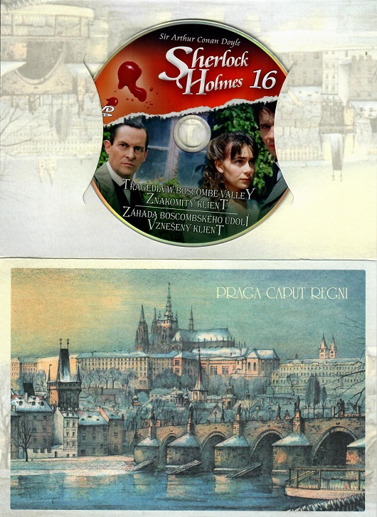 Sherlock Holmes 16 - Záhada Boscombského údolí / Vznešený klient ( dárkový obal - DVD
