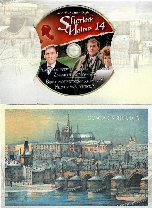 Sherlock Holmes 14 - Bruce-Partingtonovy dokumenty ( dárkový obal praha ) - DVD