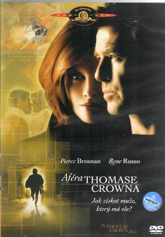 Aféra Thomase Crowna ( plast ) - DVD