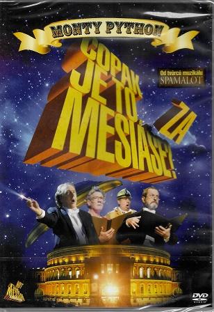 Monty Python - Copak je to za Mesiáše ( originální znění, titulky CZ ) plast DVD