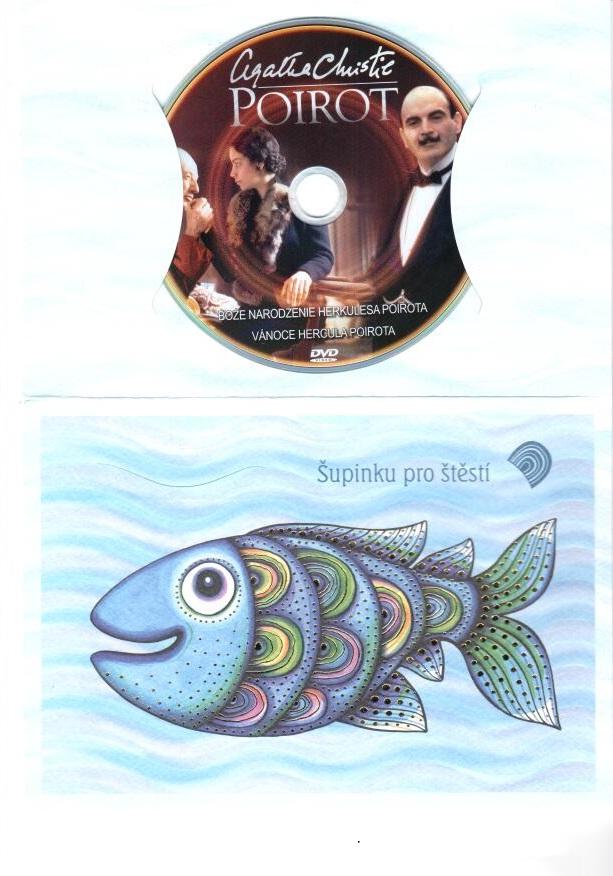 Poirot 24 - DVD - dárkový obal - ( zboží z prodejny )
