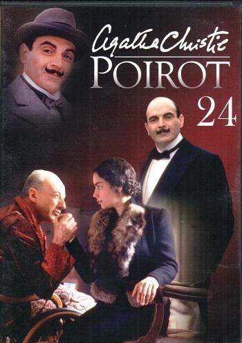 Poirot 24 ( zvuk český ) - DVD