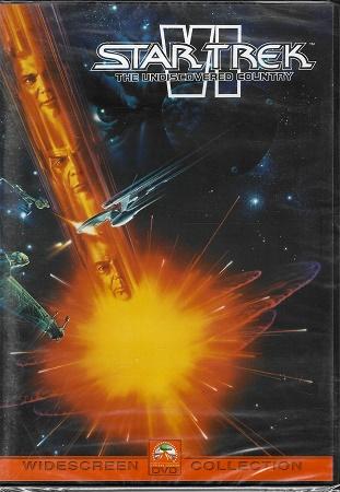 Star Trek VI: The Undiscovered Country / Star Trek VI: Neobjevená země ( plast ) DVD
