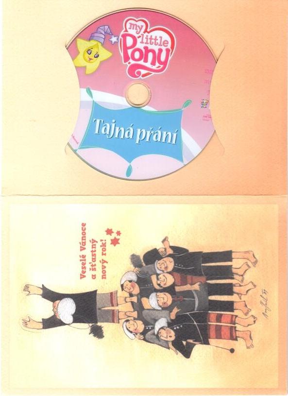 My Little Pony : Tajná přání - DVD ( dárková obálka)