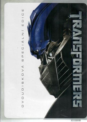 Transformers - dvoudisková speciální dvoudisková  edice - DVD
