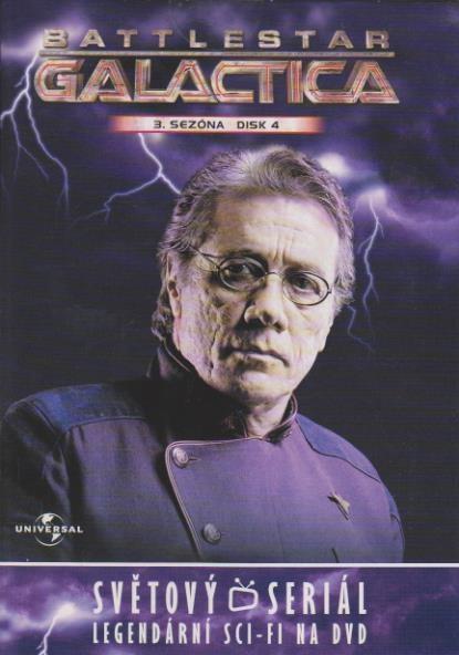 Battlestar Galactica - disk 4 - 3. sezóna, epizody 7-8 - DVD