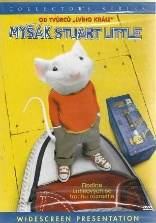 Myšák Stuart Little ( plast ) DVD
