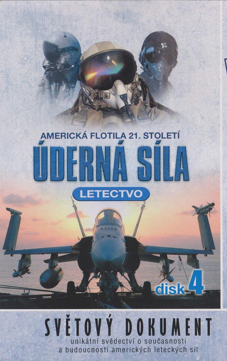 Úderná síla - Letectvo - disk 4 - DVD