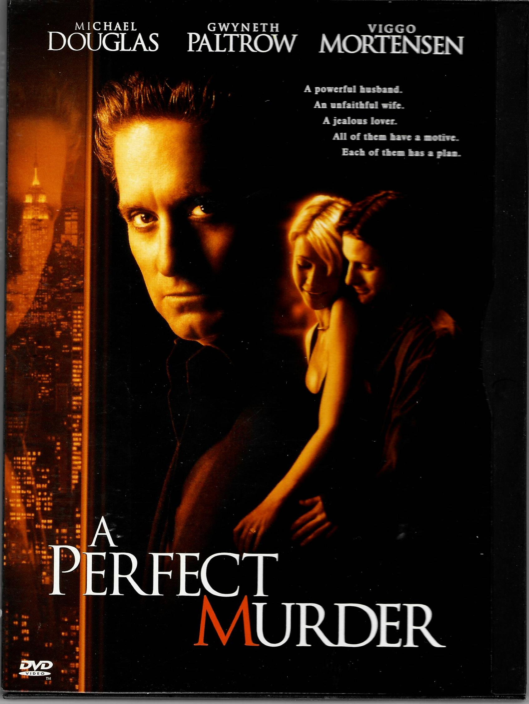 Dokonalá vražda - DVD plast