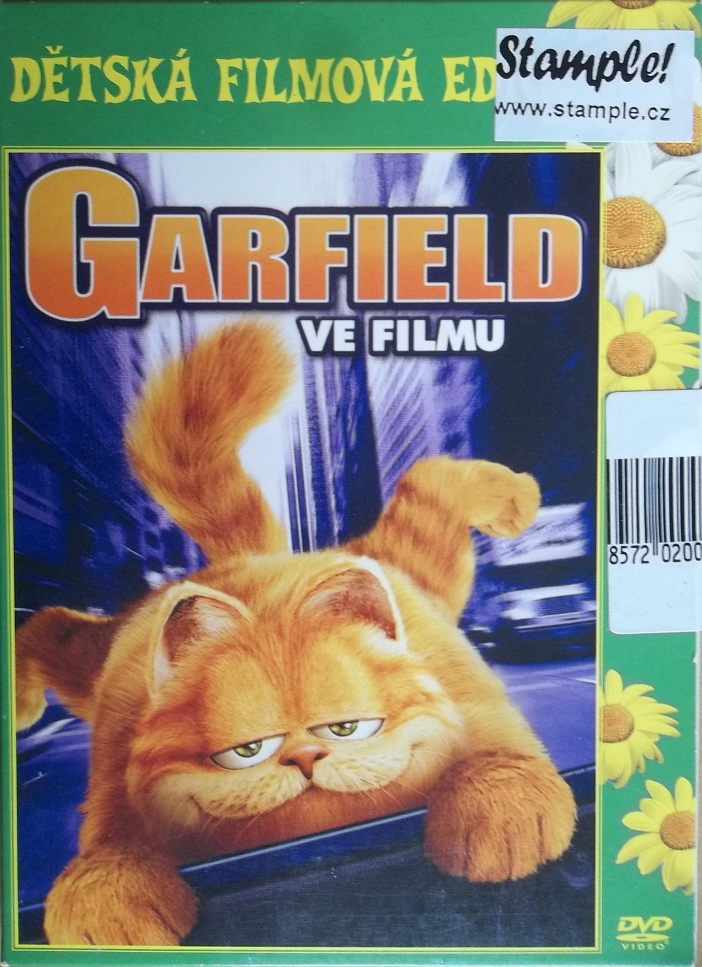 Garfield ve filmu - DVD digipack