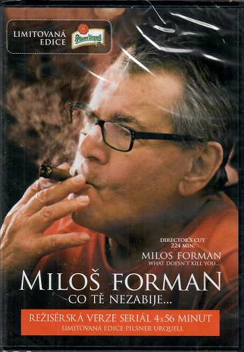 Miloš Forman: Co tě nezabije... - slim DVD