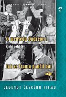 O medvědu Ondřejovi + Jak se Franta naučil bát - DVD papírová pošetka