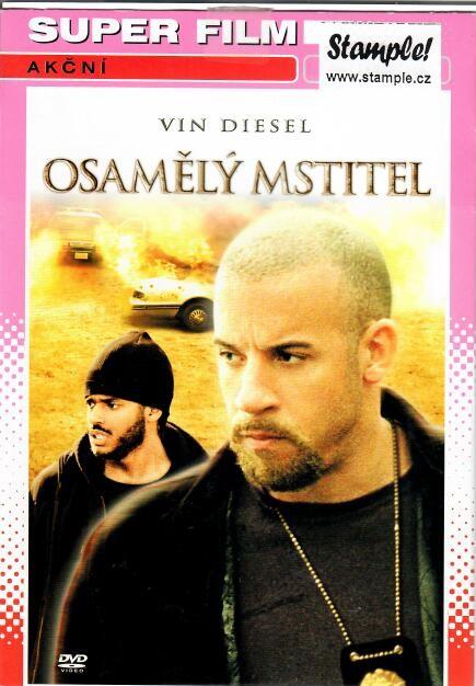 Osamělý mstitel - DVD pošetka