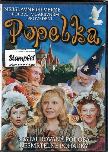 Popelka - ruská 1947 ( slim ) - DVD