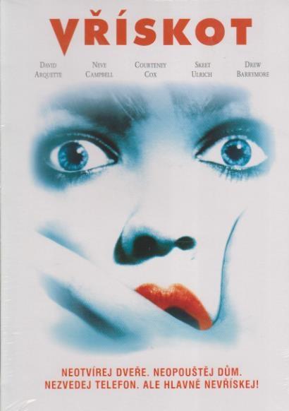 Vřískot - DVD