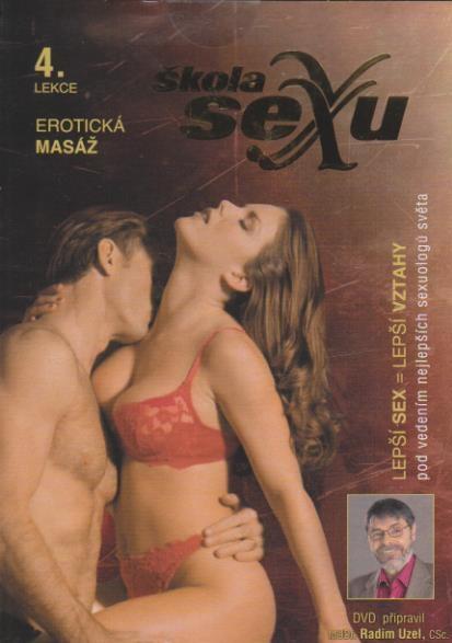 Škola sexu 04 - Erotická masáž - DVD