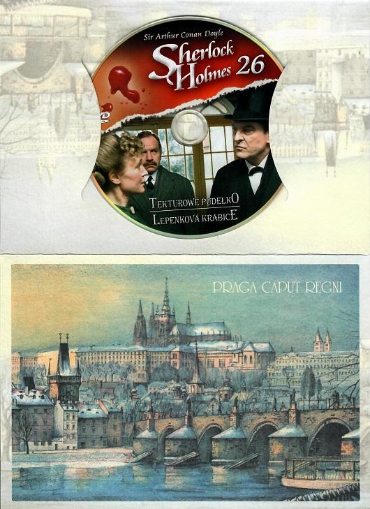 Sherlock Holmes 26 - Lepenková krabice ( dárkový obal ) - DVD
