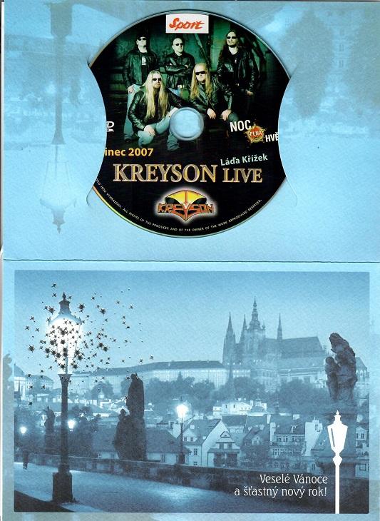 Kreyson a Ladislav Křížek live ( dárkový papír obal ) - DVD