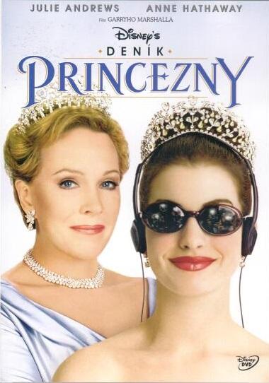 Deník princezny - DVD