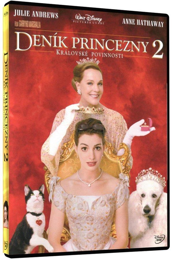 Deník princezny 2 ,Královské povinnosti  DVD