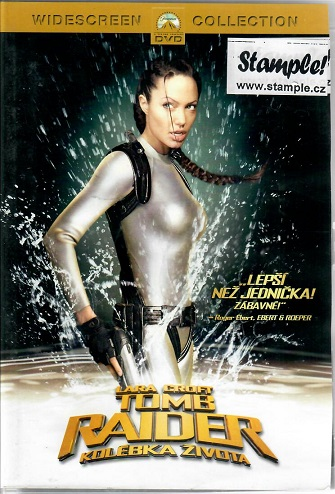 Lara Croft - Tomb Raider: Kolébka života - DVD plast