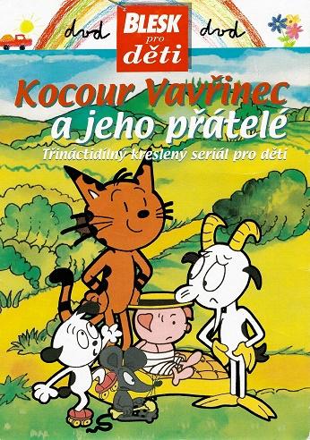 Kocour Vavřinec a jeho přátelé ( pošetka ) DVD