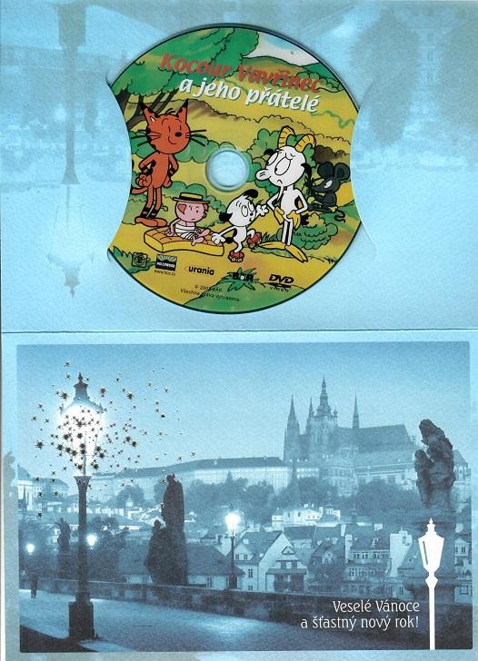 Kocour Vavřinec a jeho přátelé ( dárkový papír obal ) - DVD