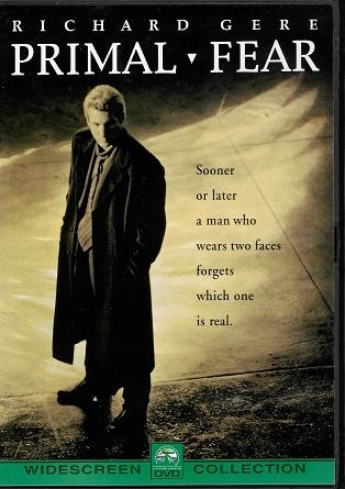 Primal Fear / Prvotní strach ( Plast ) DVD