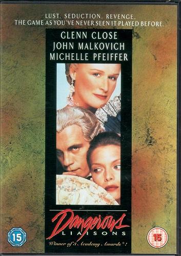 Nebezpečné známosti/ Dangerous liaisons  (John Malkovich) - originální znění s CZ titulky - DVD
